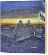Shangrila Peace Wood Print