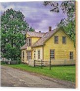 Sherbrooke Village 001 Wood Print