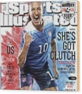 Shes Got Clutch Us Vs. Them, Meet The 23 Wholl Reconquer Sports Illustrated Cover Wood Print