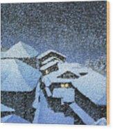 Shiobara Hataori - Digital Remastered Edition Wood Print