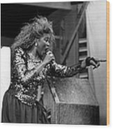 Shirley Murdock Live In Chicago Wood Print