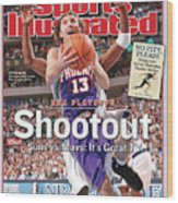 Shootout Nba Playoffs, Suns Vs. Mavs Its Great Tv Sports Illustrated Cover Wood Print