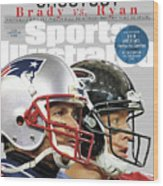 Shootout Super Bowl Li Preview Sports Illustrated Cover Wood Print