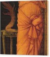 Sibylla Delphica Wood Print
