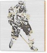 Sidney Crosby Pittsburgh Penguins Pixel Art 23 Wood Print