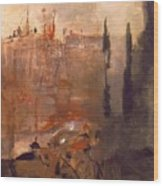 Siege Of A Castle 1910 Wood Print