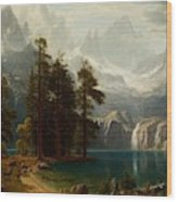 Sierra Nevada  Wood Print