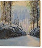 Silence    #153 Wood Print