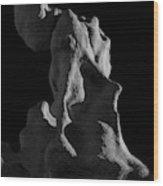 Siltstone Gollum Wood Print