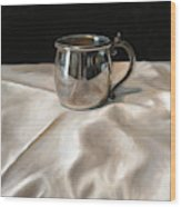 Silver Cup Wood Print