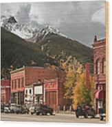 Silverton, Colorado Wood Print