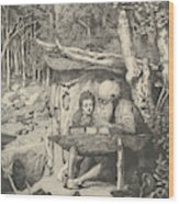 Simplici Schreibstunde, From The Series Intermezzi Wood Print