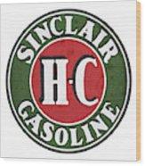 Sinclair Gasoline Wood Print