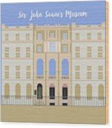 Sir John Soane's Museum Wood Print