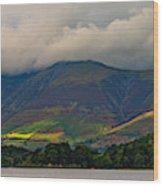 Skiddaw Panorama Wood Print