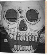Skulldrudgery Wood Print
