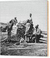 Slaves Wood Print