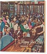 Sloppy Joes Bar, Havana, Cuba, 1951 Wood Print