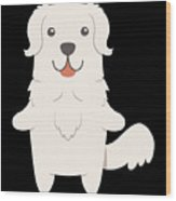 Slovak Cuvac Dog Gift Idea Wood Print