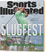 Slugfest How Brooks Koepka Pounded And Swaggered The Us Sports Illustrated Cover Wood Print