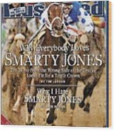 Smarty Jones, 2004 Kentucky Derby Sports Illustrated Cover Wood Print