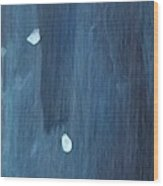 Snowy Night #2 Wood Print