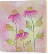 So Pretty In Pink Wood Print