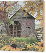 Soft Country Colors Wood Print