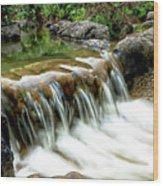 Soft Water Wood Print