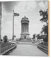 Soldiers And Sailors Monument Wood Print