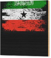 Somaliland Shirt Gift Country Flag Patriotic Travel Africa Light Wood Print