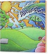 South Texas Disc Golf Wood Print