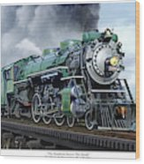 Southern Railway Class Ps-4 Pacific Wood Print