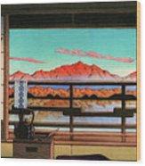 Spa Hotel Morning - Digital Remastered Edition Wood Print