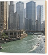 Spectacular Chicago Downtown Wood Print