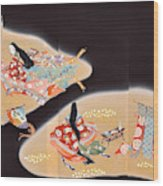 Spirit of Japan T16 Wood Print