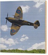 Spitfire Mk356 Wood Print