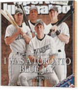 Sports Illustrated Senior Writer Tom Verducci I Was A Sports Illustrated Cover Wood Print
