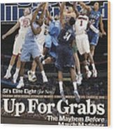 Sports Illustrateds Elite Eight Sports Illustrated Cover Wood Print