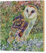 Spring Attraction Wood Print