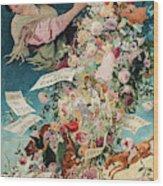 Spring In Seville, 1903 Wood Print