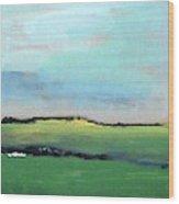 Spring Meadow Wood Print