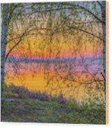 Spring Morning At 5.43 Wood Print