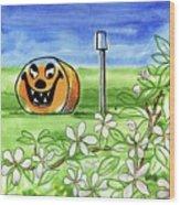 Spring-o-ween Wood Print