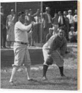 Spring Training - New York Yankees Wood Print