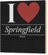 Springfield Missouri Mo Missourian Wood Print