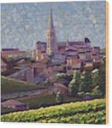 St. Emilion Art Wood Print