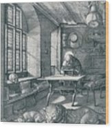 St Jerome In His Study, 1514 1906 Wood Print