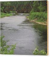 St Joe Bridge Wood Print
