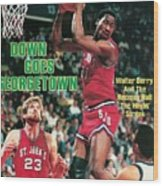 St. Johns University Walter Berry Sports Illustrated Cover Wood Print